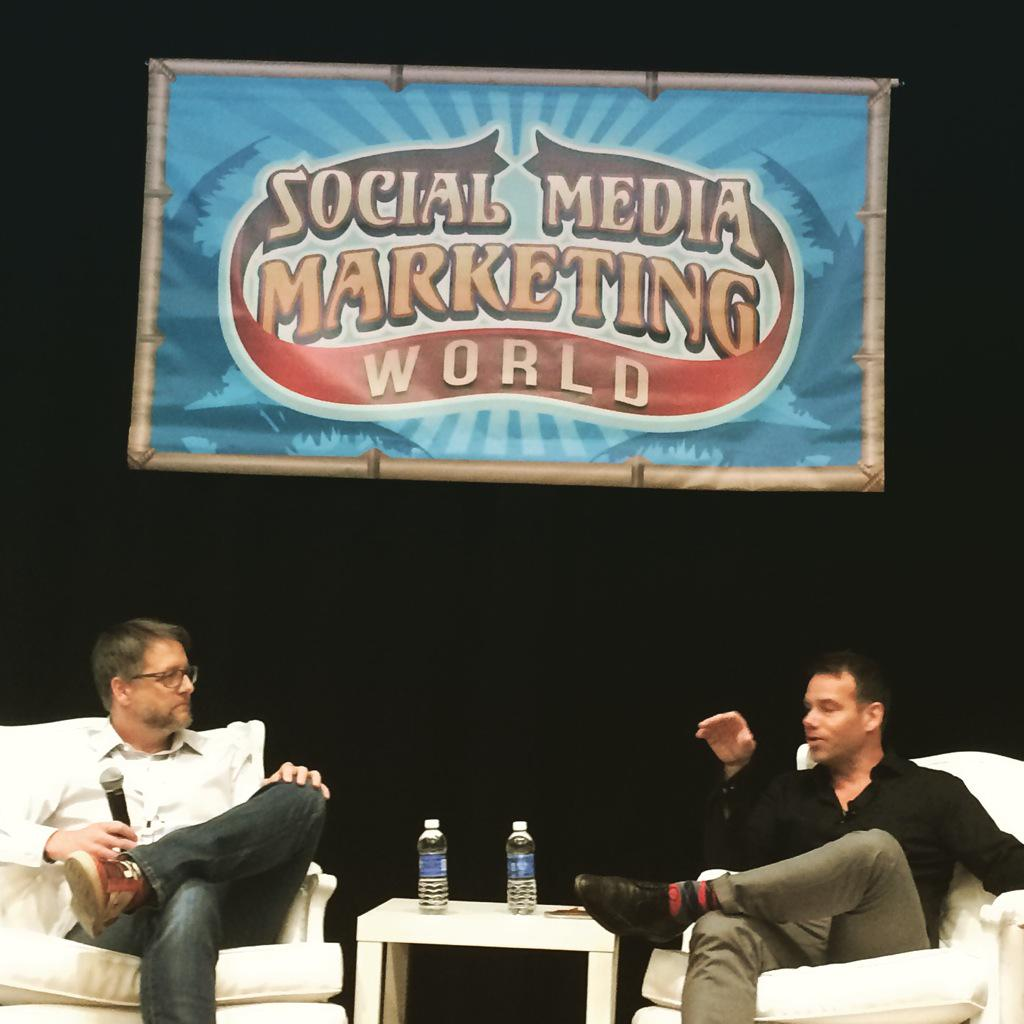 266: Brian Clark of CopyBlogger & Rainmaker.fm LIVE at Social Media Marketing World 2015
