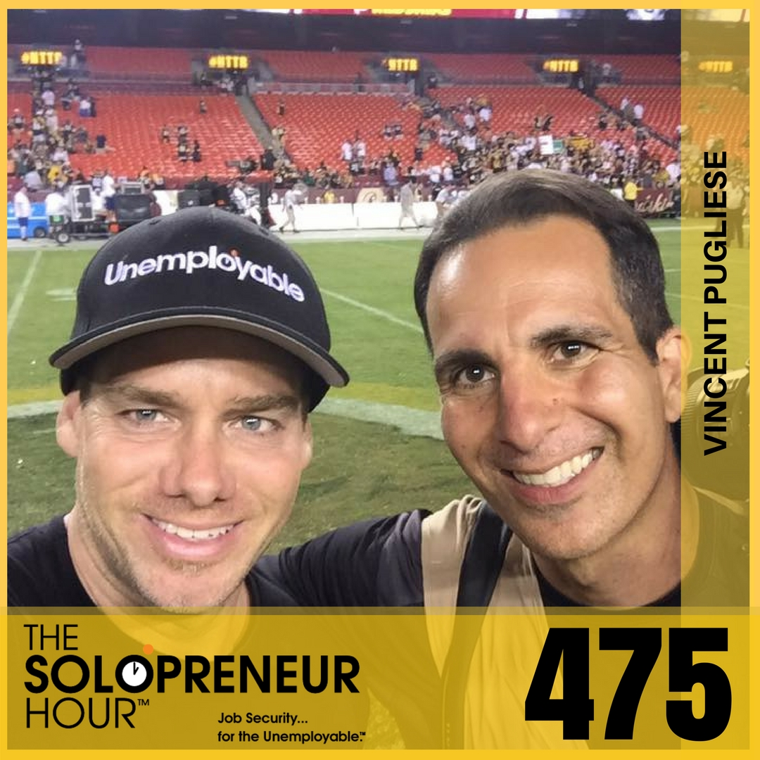 475: From Street Kid to Superbowl Photographer with Vincent Pugliese
