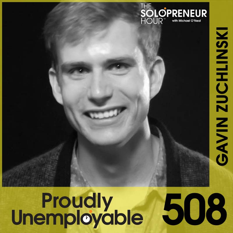 508: This One Hack Will Change Your Solopreneur Life, with Gavin Zuchlinski of Acuity Scheduling