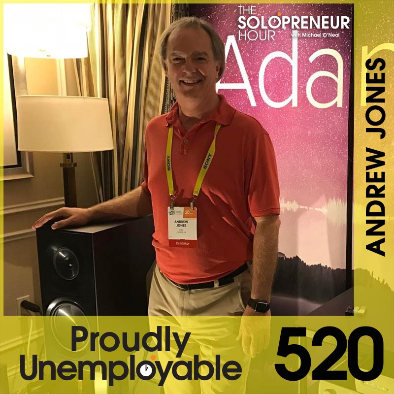 520: Legendary Loudspeaker Designer Andrew Jones Has Fierce Attention To Detail