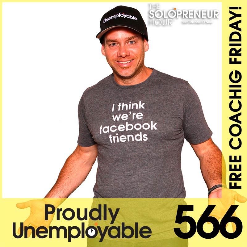 "566: How To Make A Landing Page, Combating ""Writers Block"", and More…"