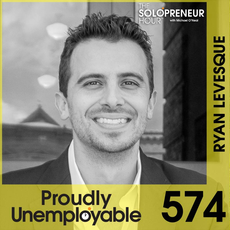 574: How To Give Your Audience EXACTLY What They Want, with Ryan Levesque