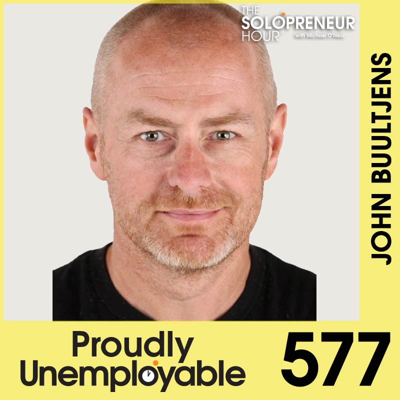 577: John Buultjens Faced Insurmountable Odds…And Now Lives His Dream Life