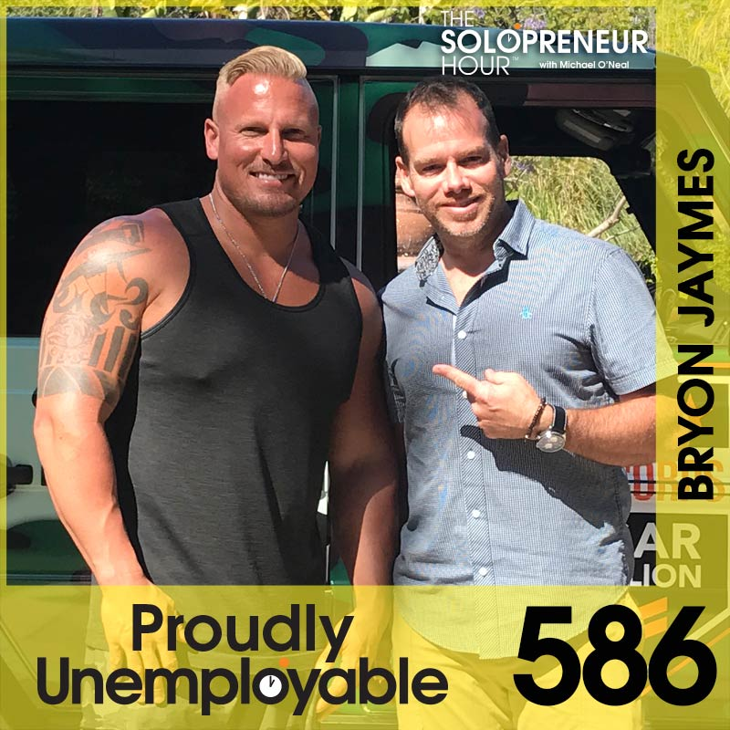 586: Leadership, Health, and Taking Big Leaps for Big Results with Bryon Jaymes