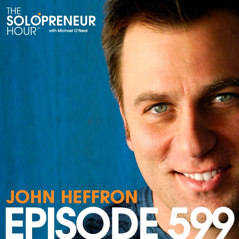 599: Comedian John Heffron Can Remote Control You From The Stage. Kind of.