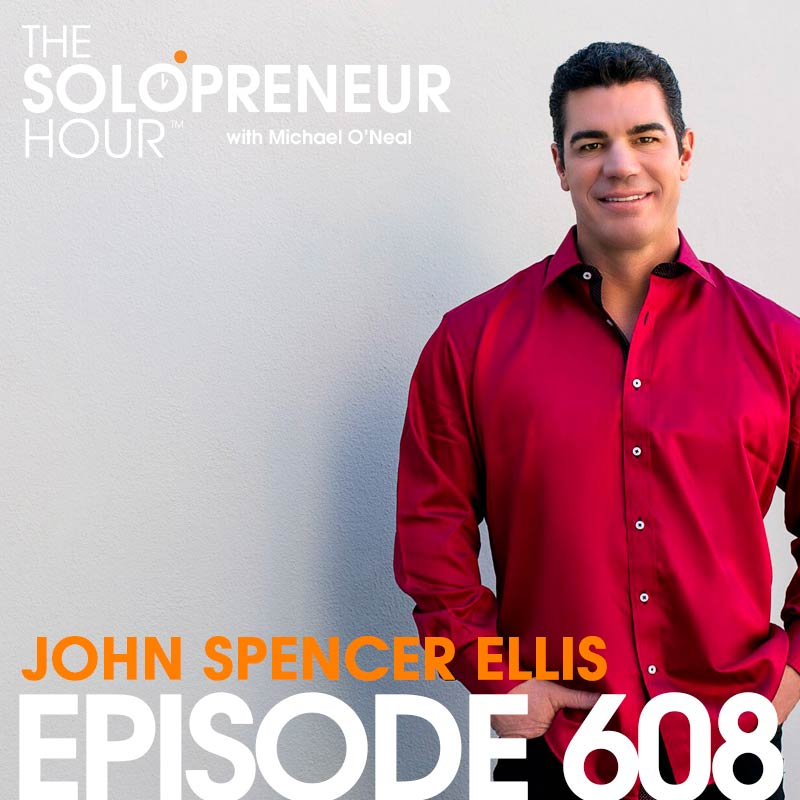 608: Repurposing Your Skills into New Ventures, with John Spencer Ellis (And a Special Announcement!)