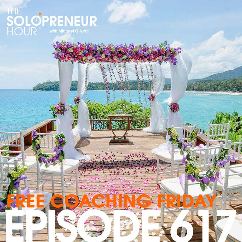 617: Solopreneur Q&A – Free Coaching Friday!