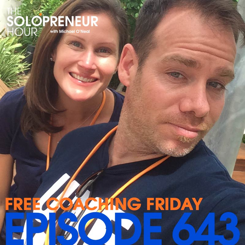 643: Ready for a Quickie? Free Coaching Friday in 15 minutes.