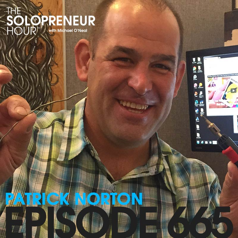 "665: Patrick Norton – Making a Career in Tech by Saying ""Yes"""