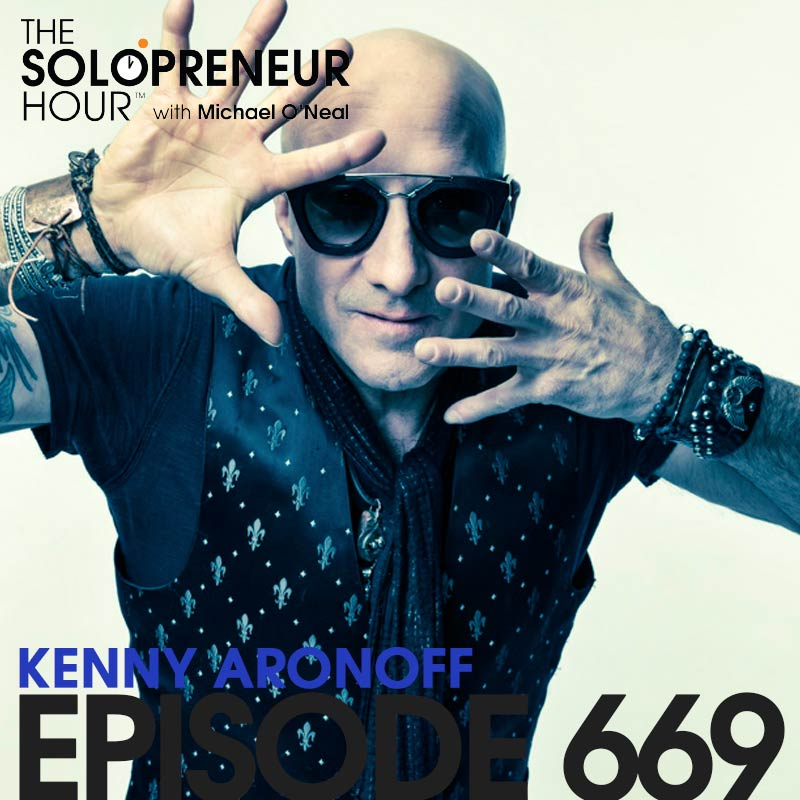 669: 7 Tips for Success with Legendary Drummer Kenny Aronoff