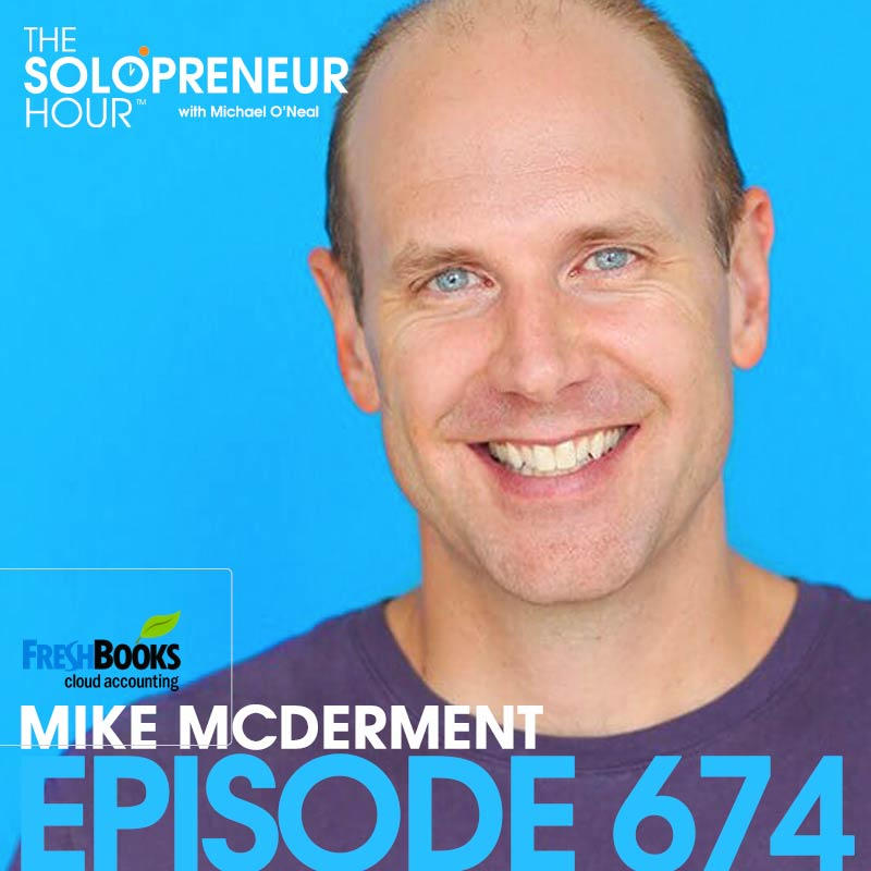 674: Building Leadership Skills with Freshbooks' Founder & CEO, Mike McDerment