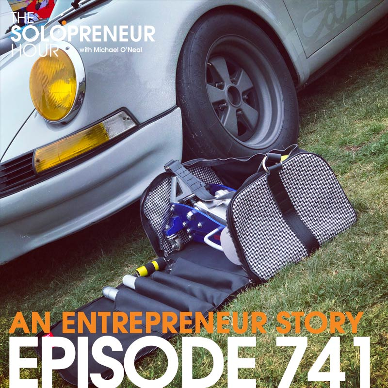 "741: A CRAZY Entrepreneurial Story, starring the Rennch ""Jack in The Bag""."