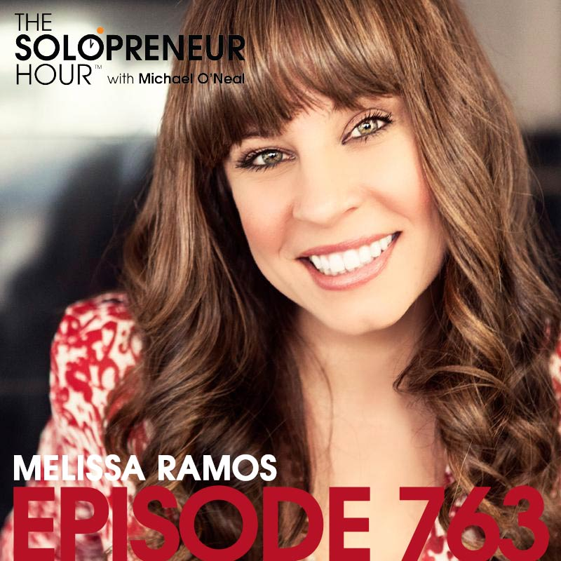 763: 10 Ways to Stay Healthy While Working HARD, with Melissa Ramos