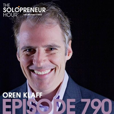 790: How to Make People Think Your Idea Is Their Idea With Oren Klaff