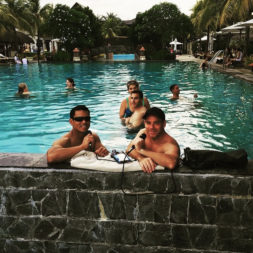BONUS EPISODE: Poolcast I Live from Tropical Think Tank in Cebu Philippines