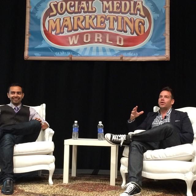 268: Pat Flynn of Smart Passive Income LIVE from Social Media Marketing World 2015