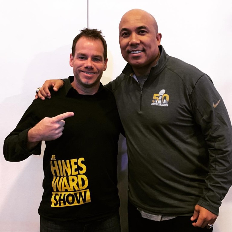 387: Hines Ward Returns to Talk About The Hines Ward Show!