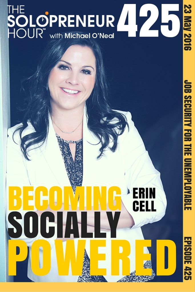 Becoming Socially Powered with Erin Cell