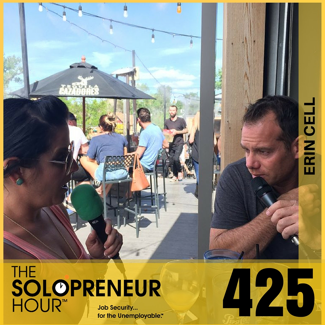 425: Become Socially Powered with Erin Cell