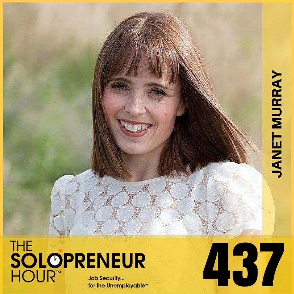 437: Janet Murray Wants To Help You With Your Bad Press Release