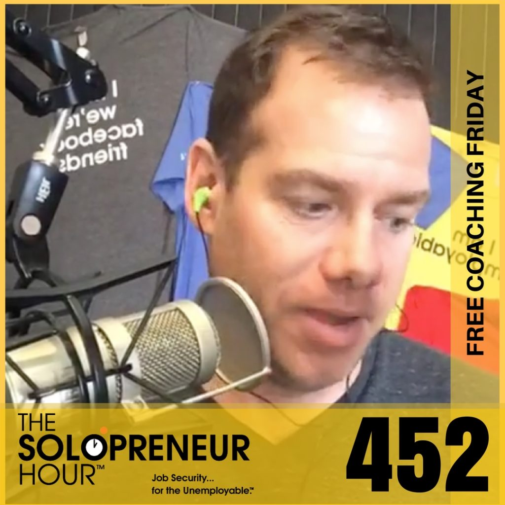 452: Scaling, Masterminding, Instagramming, Designing, Podcasting, Answering!