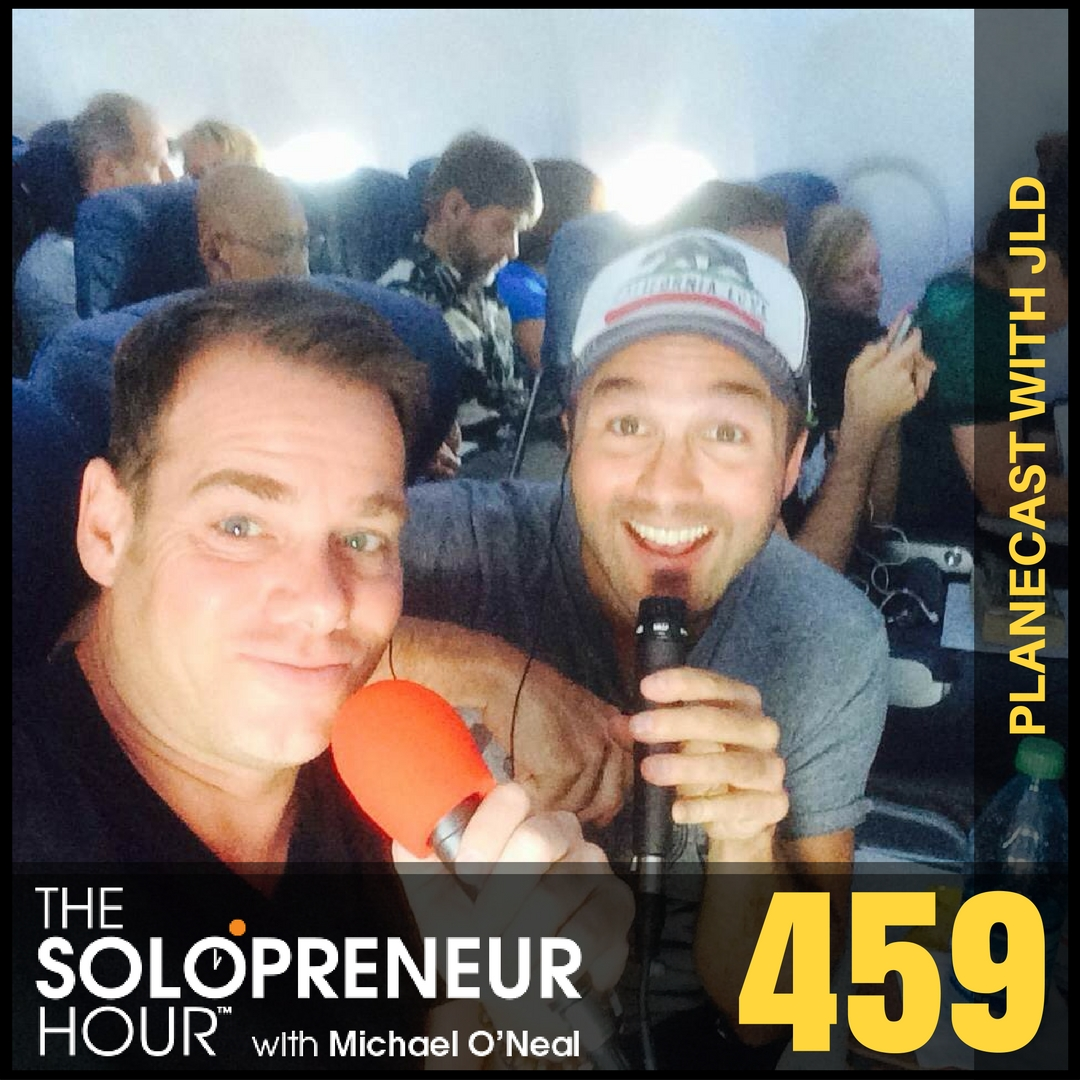 459: Planecast with John Lee Dumas (Best of)
