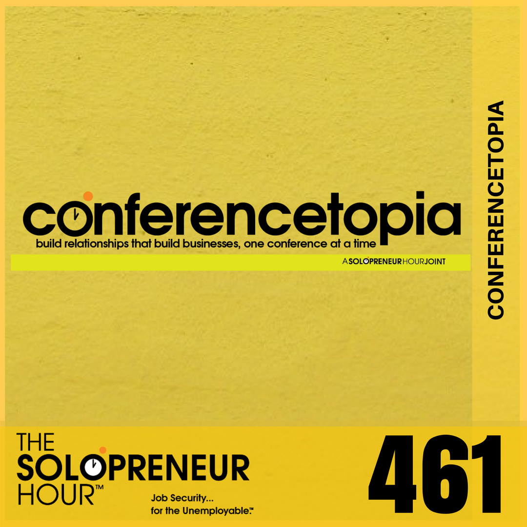 461: Announcing Conferencetopia, Art of The Interview Beta, & Your Questions