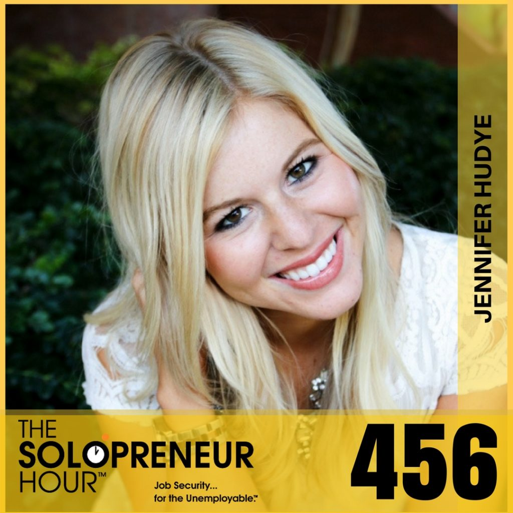 456: How To Nurture Your Email List To Create More Sales with Jennifer Hudye