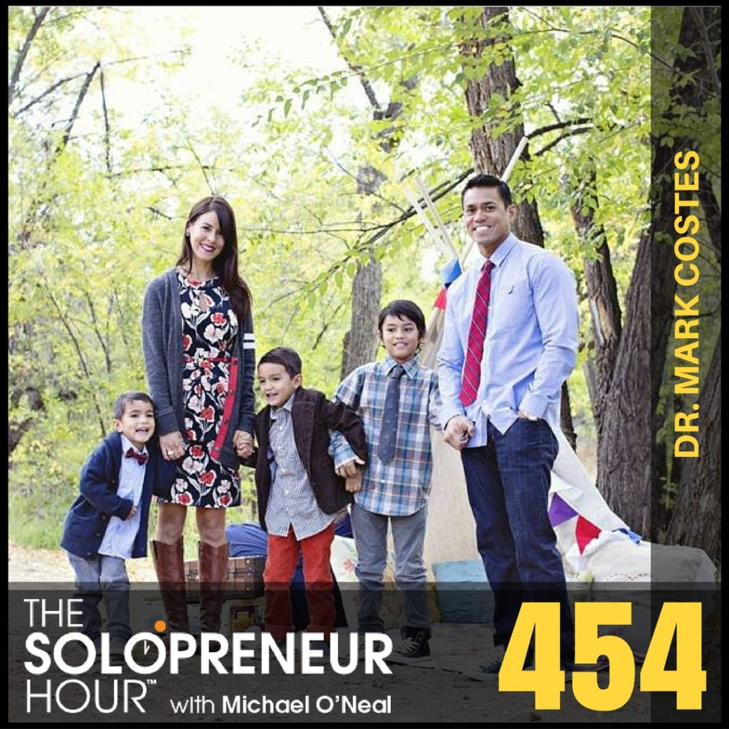 454: Creating a SIX-FIGURE Side Gig, with Dr. Mark Costes (best of)