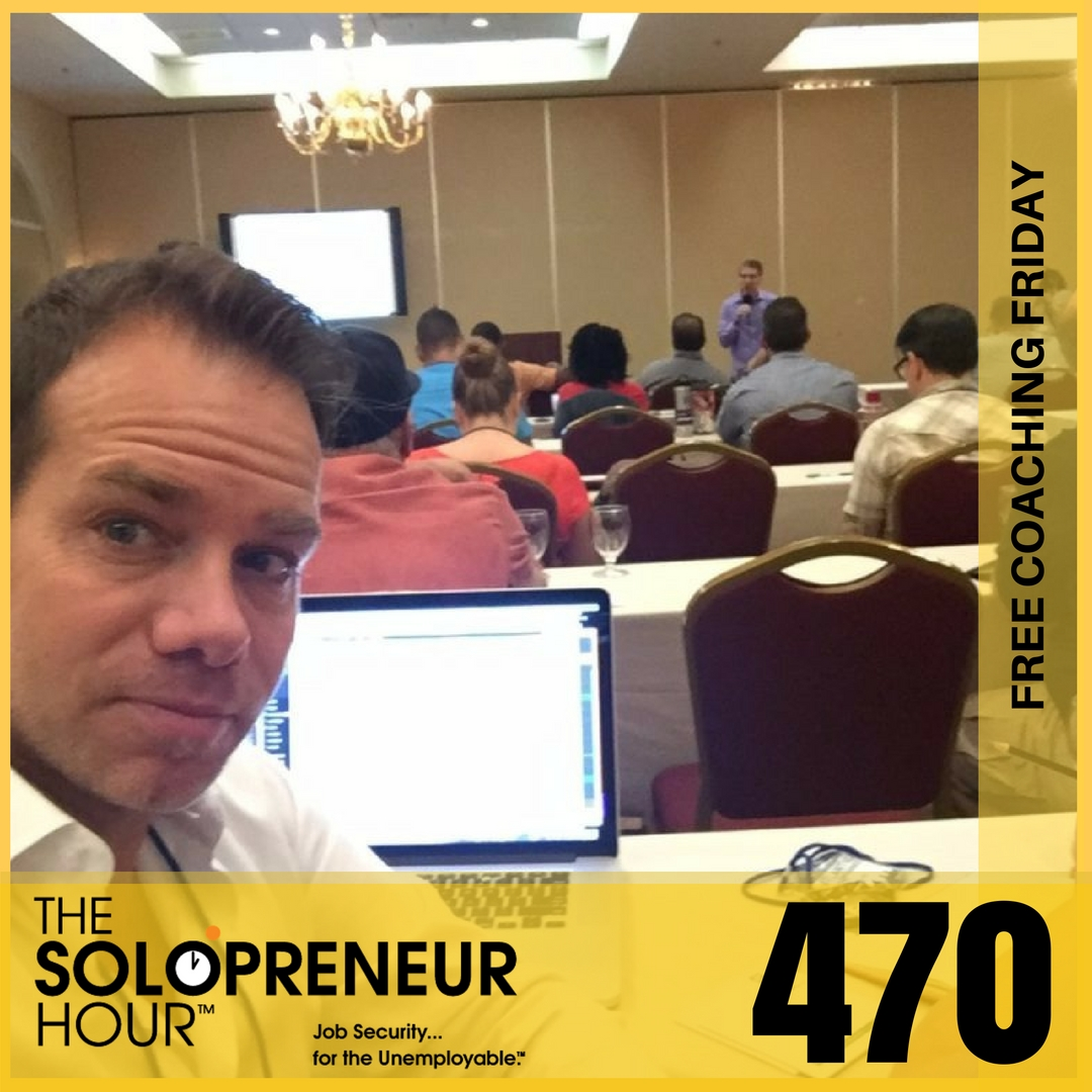 470: FCF Solopreneur Life, A Stellar Weekend, And Time Freedom