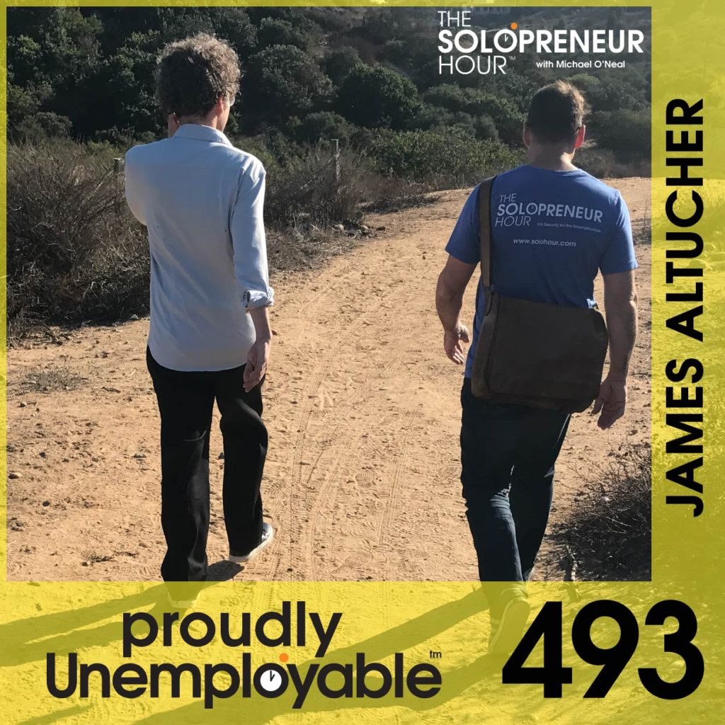 493: James Altucher is a Stand Up Comedian Trapped in an Author's Body