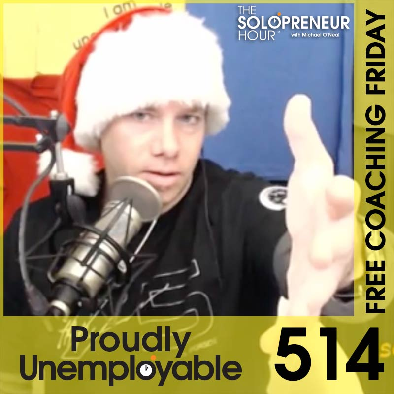 514: Answering Your Solopreneur Questions (Free Coaching Friday)