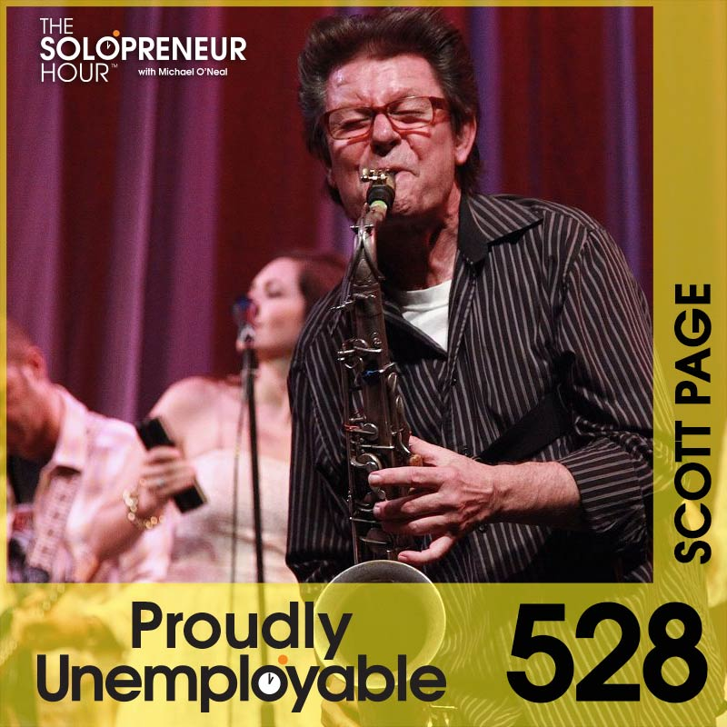 528: Scott Page – From Pink Floyd To Entrepreneur