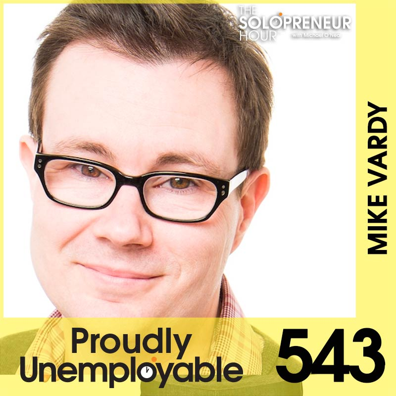 543: How to be MORE Productive with Mike Vardy the Productivityist (Best of)