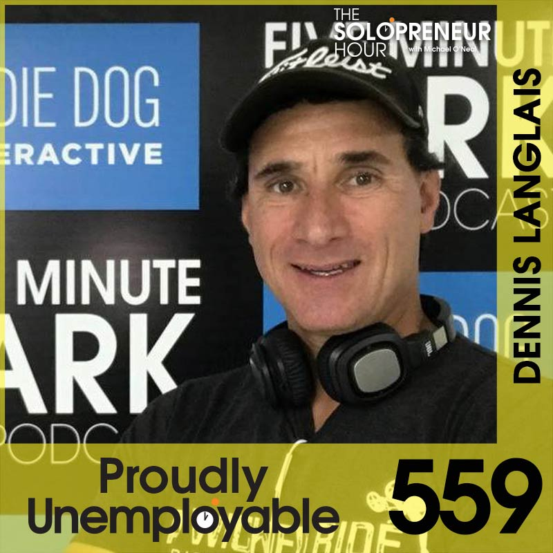 559: From BMX Legend to Entrepreneur: Dennis Langlais of 5-Minute Bark