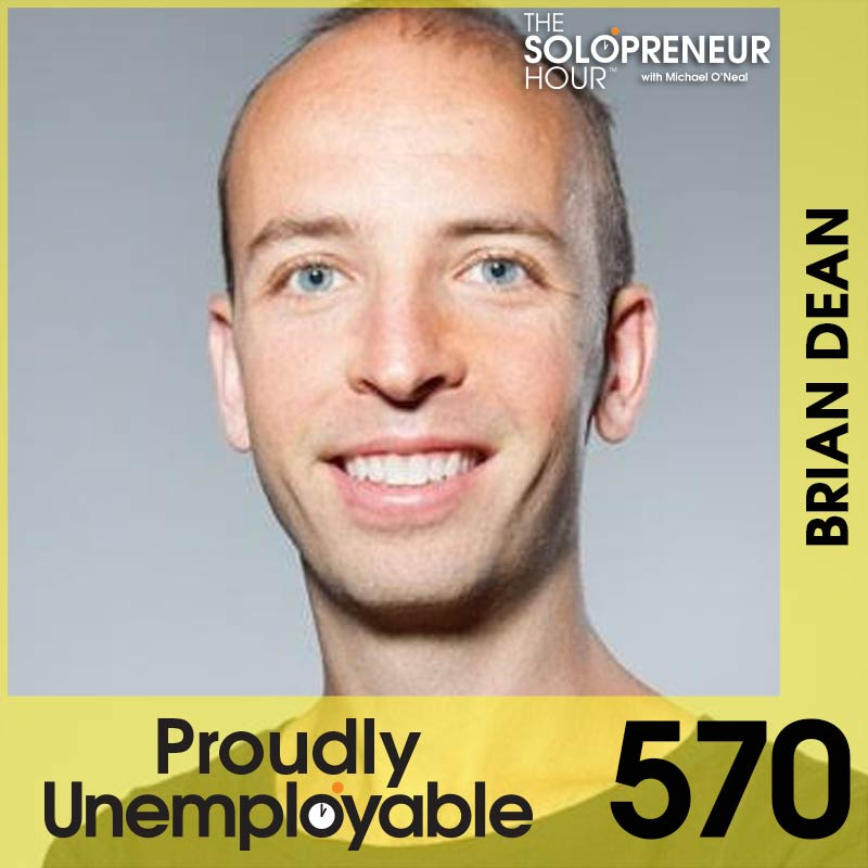 570: How to Grow Your YouTube Audience & Beginner SEO Hacks, with Brian Dean