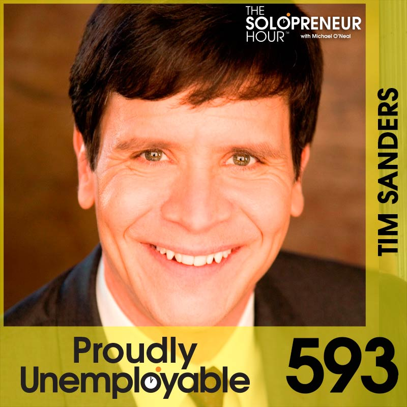 593: Tim Sanders Shares The Secret to Long-Term Success…and it's KILLER.
