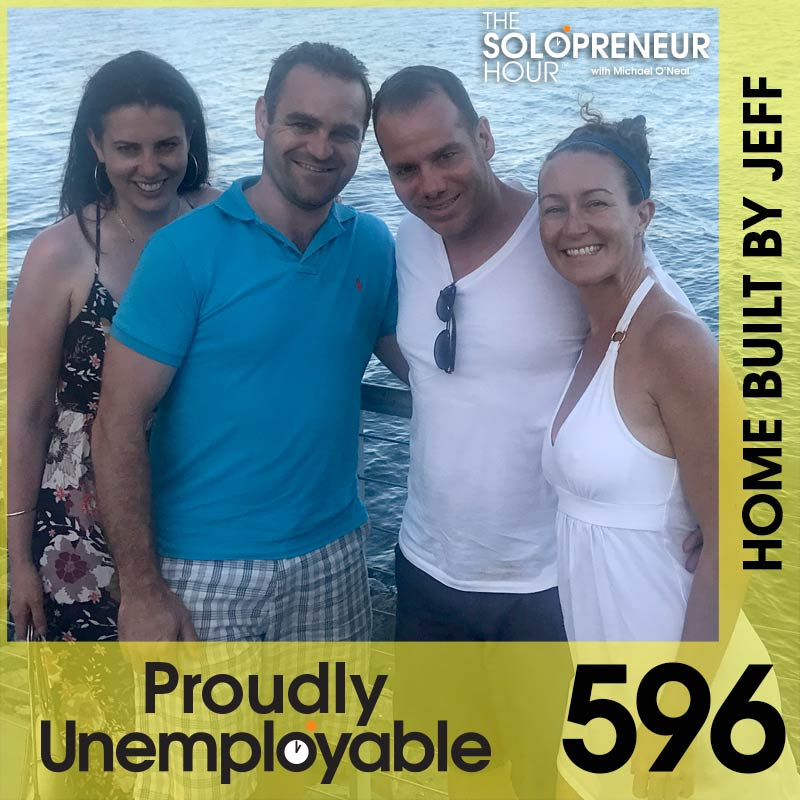 596: Building a YouTube Channel from Scratch with Jeff Miklem (Home Built By Jeff)