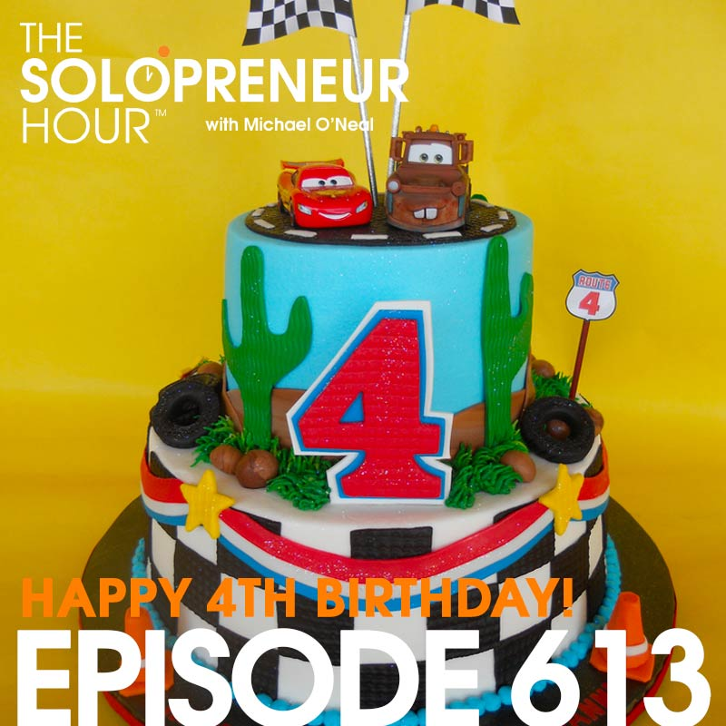 613: How to Become Profitably Unemployable – The Epic 4-Year Anniversary Show!