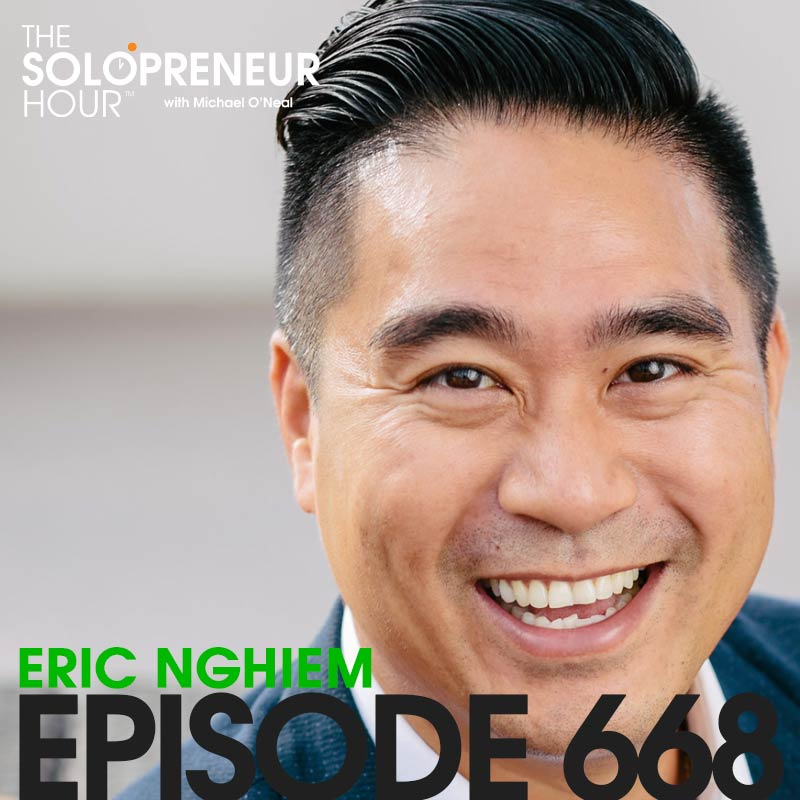 668: Solopreneur Taxes, Business Structure, and Planning with The Cashflow Doctor, Eric Nghiem