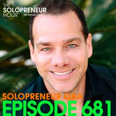 681: Teaching Luddites to Instagram, Launching a Podcast, and more… | Solopreneur Q&A