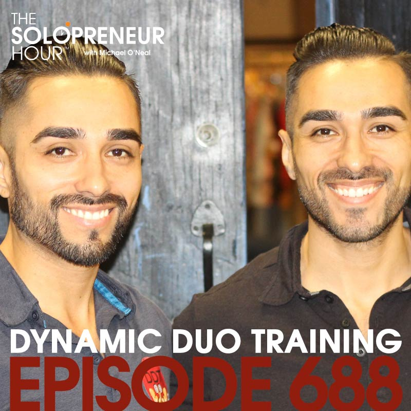 688: The Dynamic Duo of Fitness, Chris & Eric Martinez