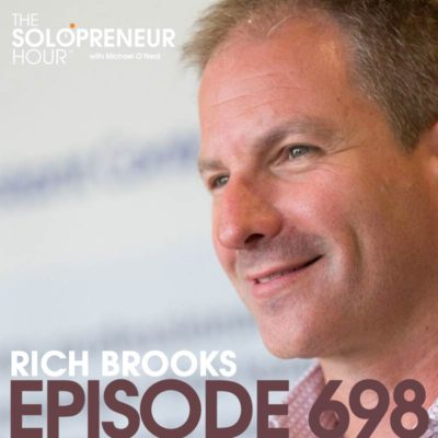 698: Surrounding Yourself with Success and Becoming an Agent of Change with Rich Brooks