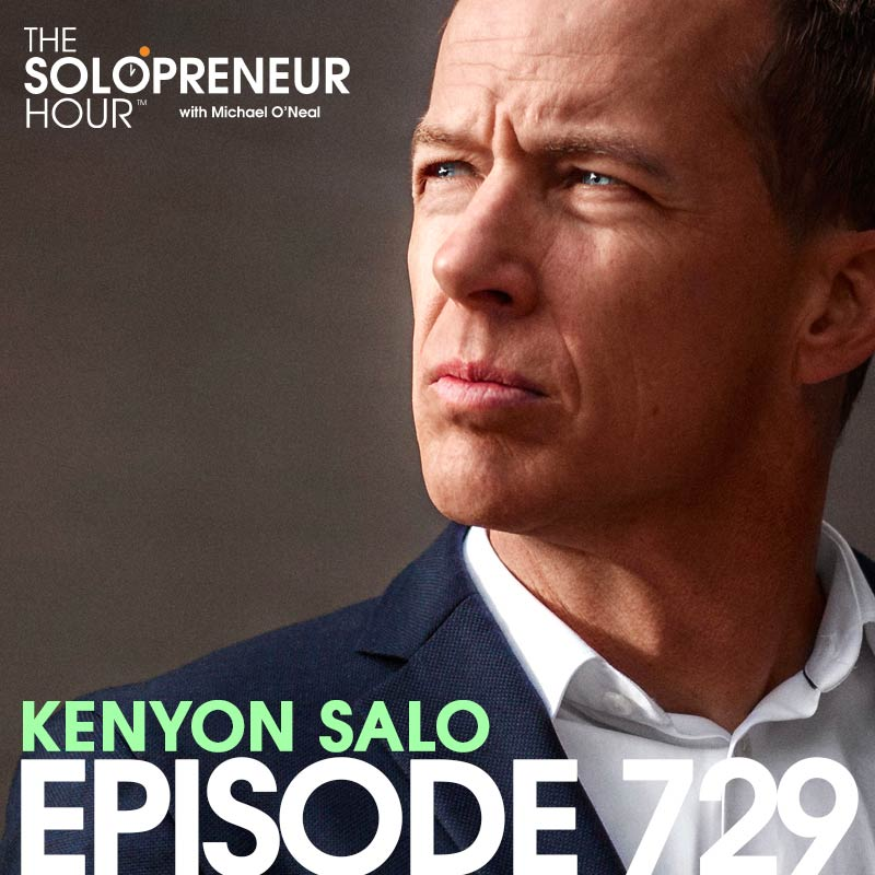 729: The Nuts & Bolts of Successful Public Speaking, with Kenyon Salo