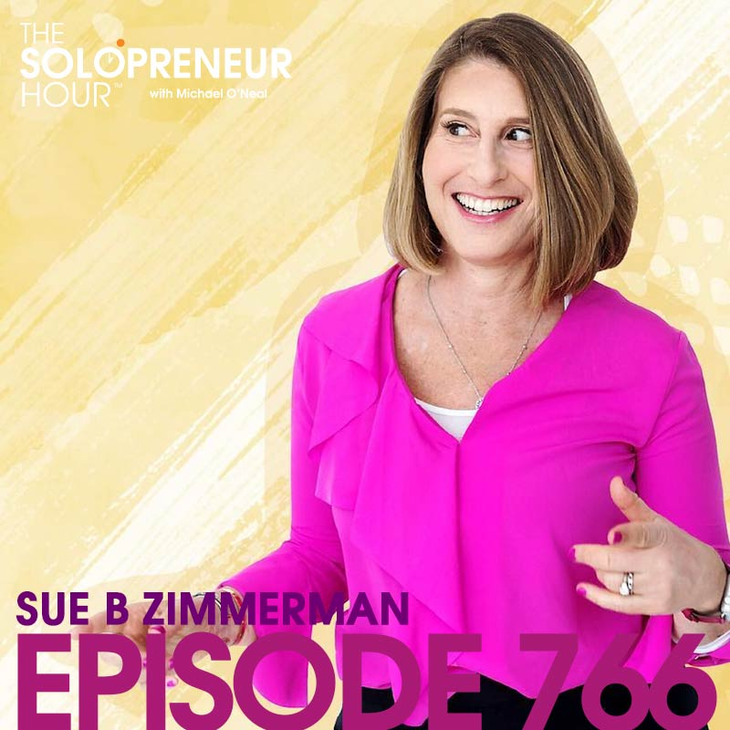769: Instagram Growth in 2019 with Sue B. Zimmerman