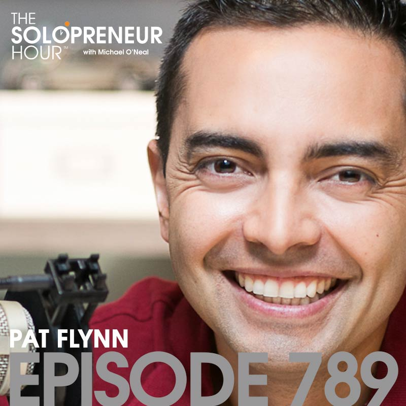 Pat Flynn from Smart Passive Income on The Solopreneur Hour Podcast