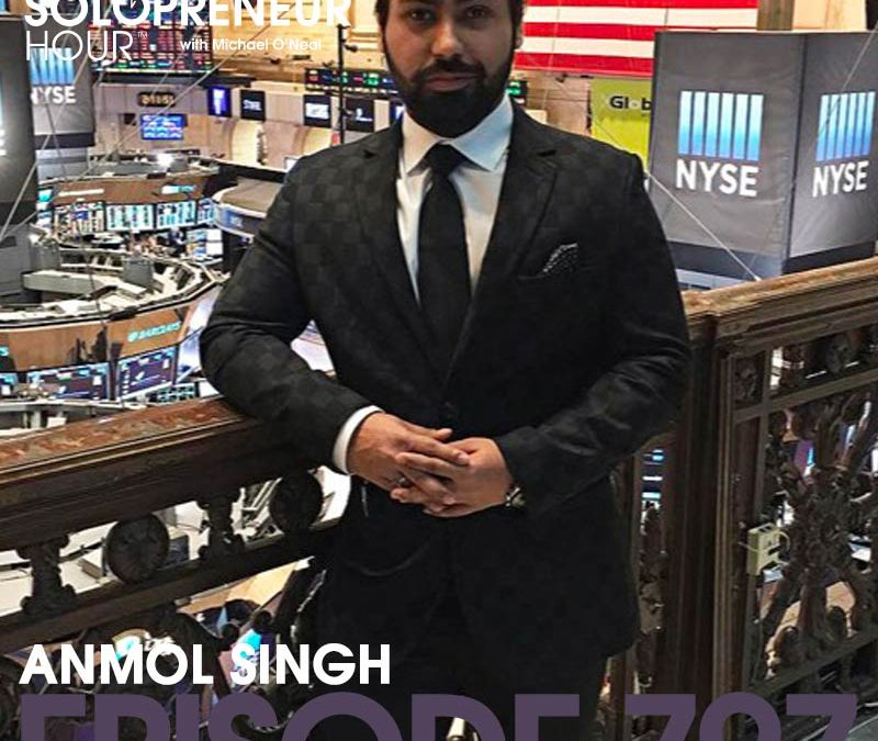 797: How to Become a Stock Market, Forex, or Options Trader with Anmol Singh