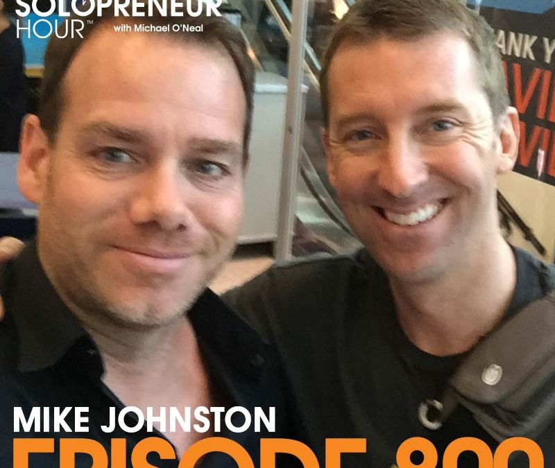 800: Evolution, Commitment, and Growth With Mike Johnston