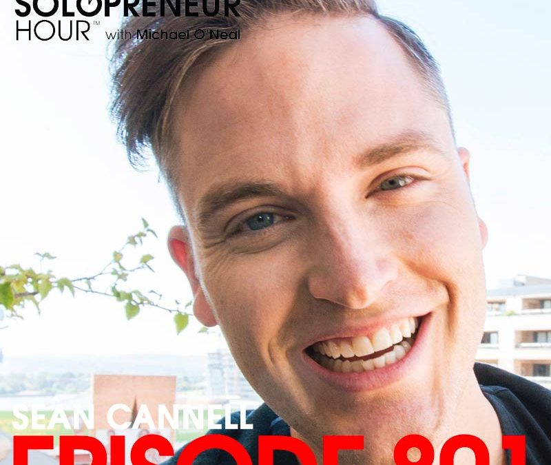 801: Building a 1 Million Subscriber YouTube Channel, with Sean Cannell from Think Media